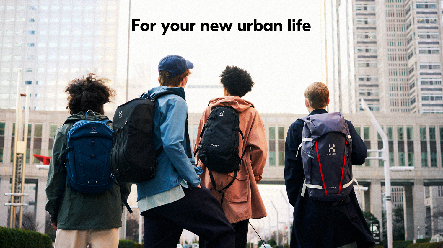 For your new urban life.